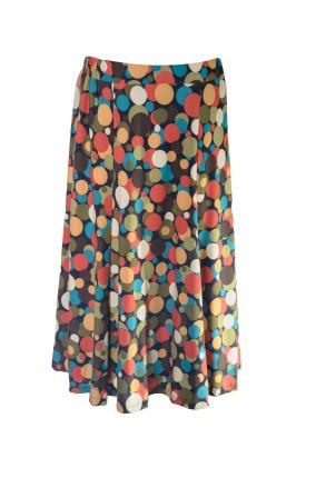 Long Gored Skirt 11